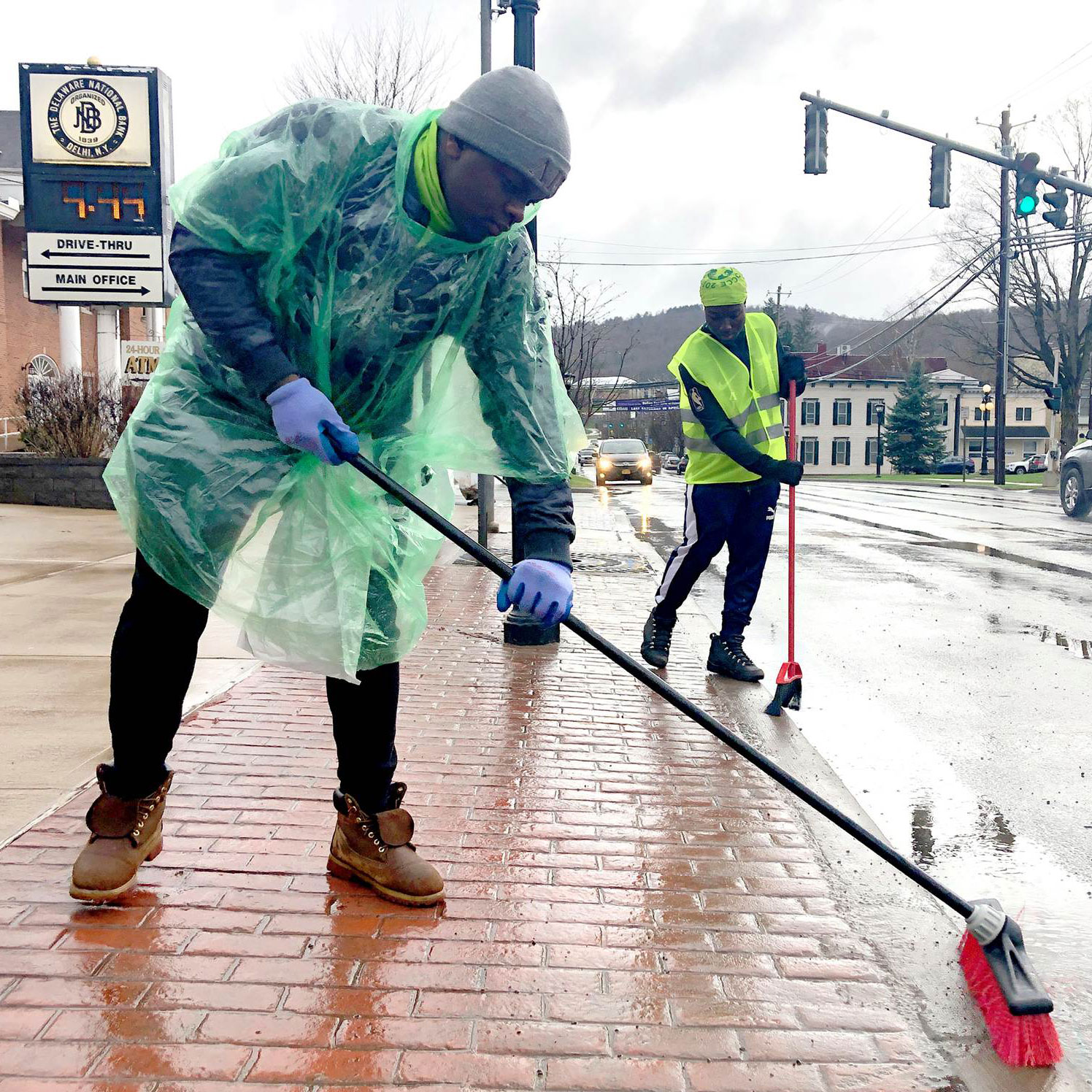 SUNY Delhi Celebrates Earth Day with Community Service