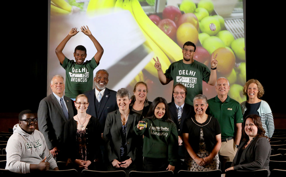 SUNY Delhi helping to Fight Hunger