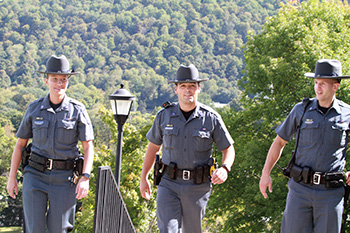 Three new UPD Officers on campus