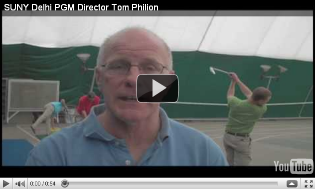 Professor's view on golf careers. Watch Video!