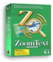 Zoom Text Software