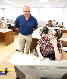Mechatronics Design Professor and Students