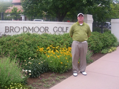 Caleb Blass interns at The Broadmoor