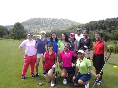 first tee big apple girls golf camp