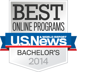 Best Online Programs - US News and World Report - Bachelor's 2014