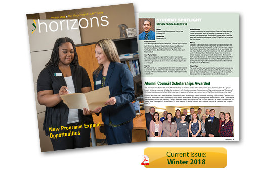 Horizons Magazine - Winter 2018