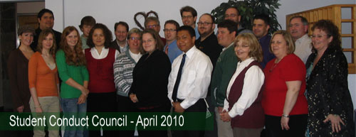April 2010 Conduct Council Members