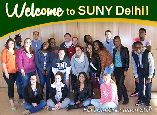 Welcome to SUNY Delhi!