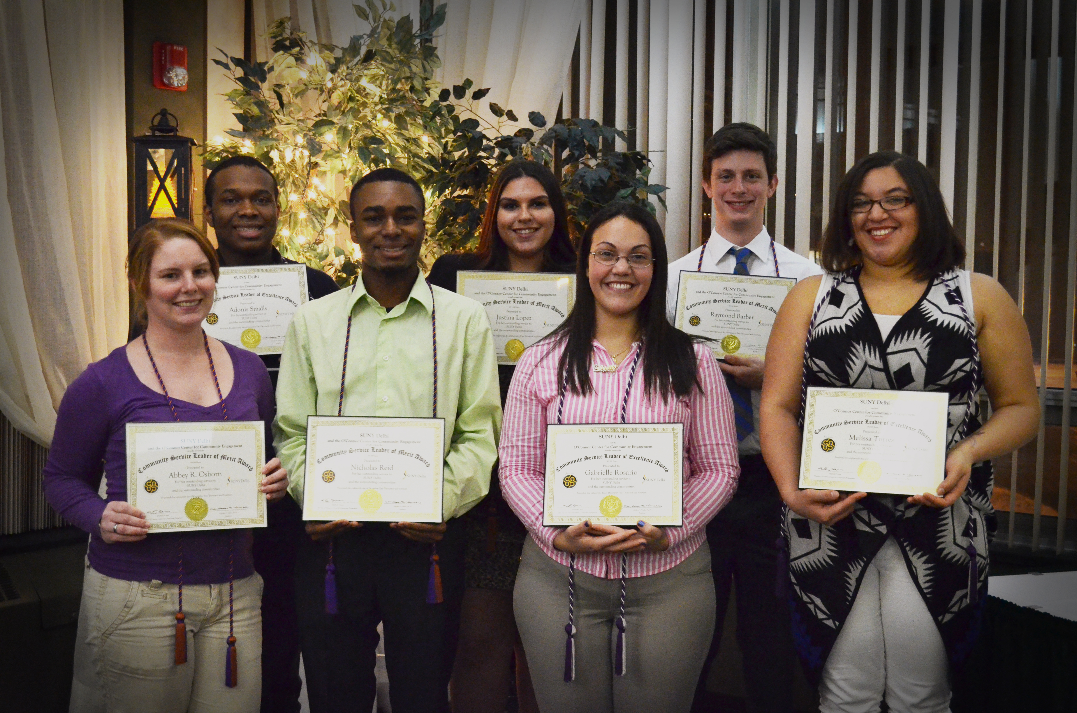 Community Services Awards and Students of the Year