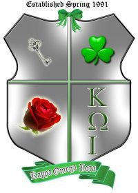 Crest for Kappa Omega Iota