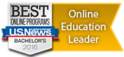 Online Education Leader 2015 by U.S. News & World Report