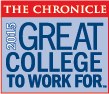 The Chronicle - Great Colleges to work for logo