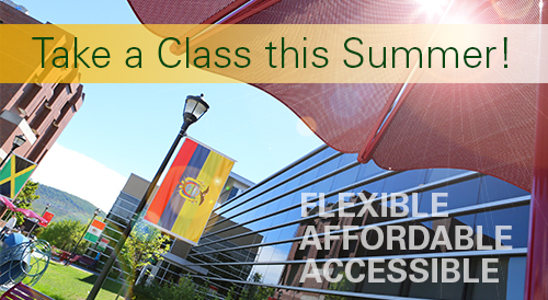 Take a Class this Summer! Flexible - Affordable - Accessible