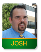 Admissions Counselor: Josh Gregory