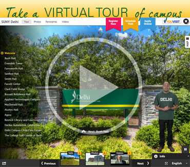 Take a Virtual Tour of Campus